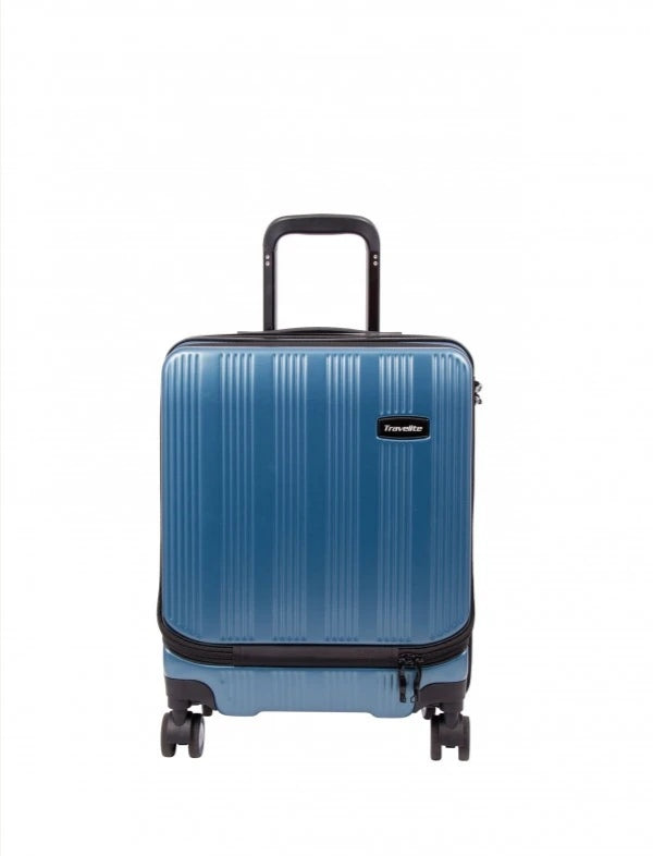 Travelite Excelsior 65cm Spinner Blue