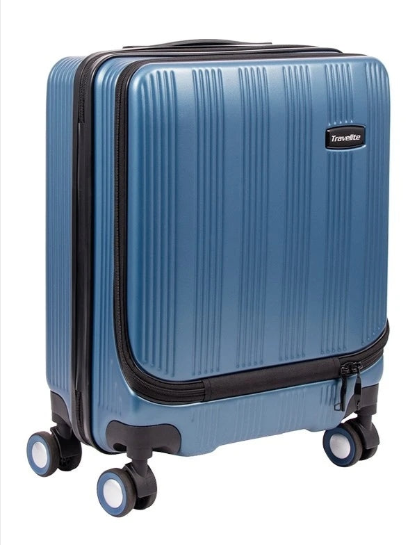 Travelite Excelsior 75cm Spinner Blue