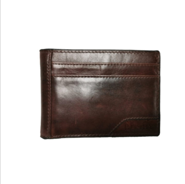 Busby Leather Johnson Card Wallet