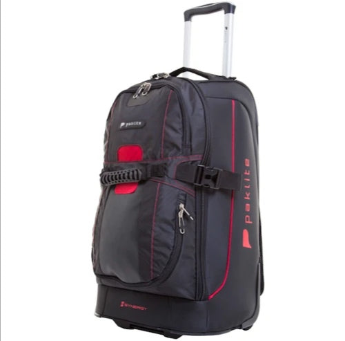Paklite Synergy 61cm Trolley Duffle with Backpack Straps
