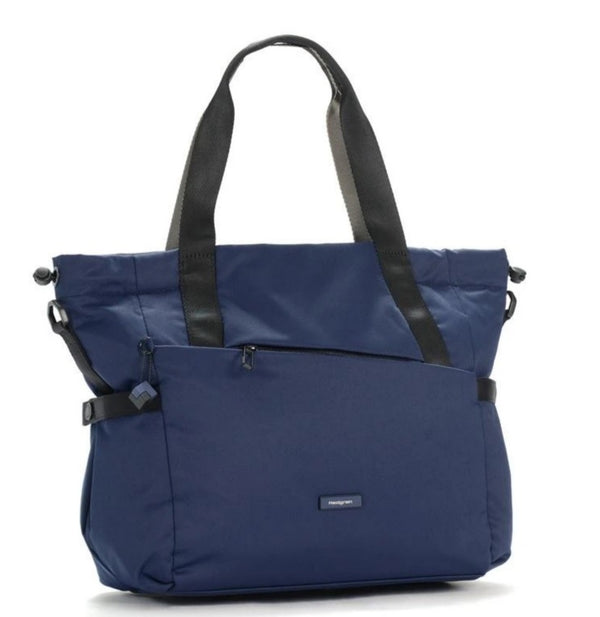 Hedgren Nova Shoulder Tote Handbag Blue