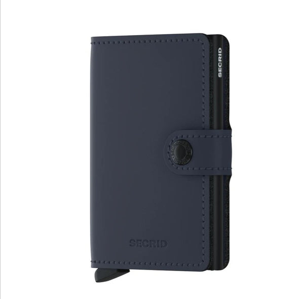 Secrid Matte Mini Wallet Night Blue