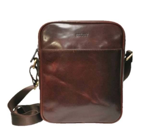 Busby Leather Johnson Top Zip Crossbody