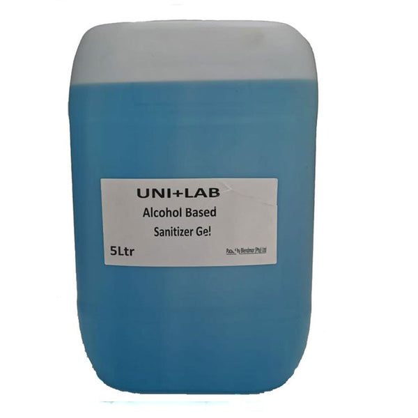 UNI+LAB Hand Sanitizing Gel 5 Litre Bottle 70% Alcohol Content – Each