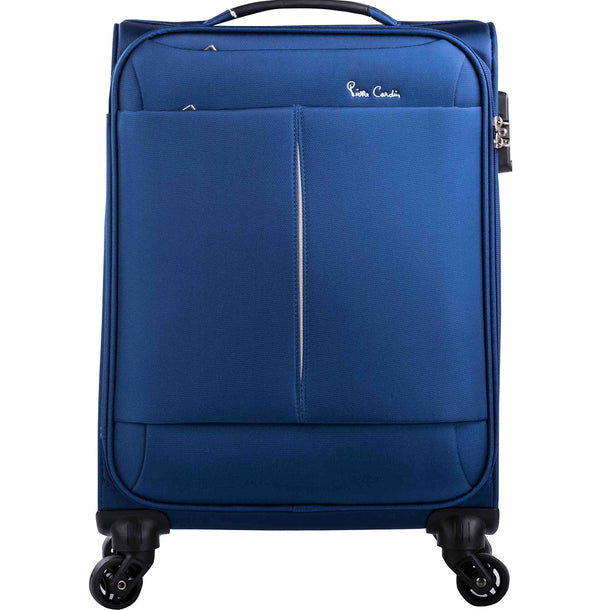 Pierre Cardin Ultralight 55cm Carry On Blue