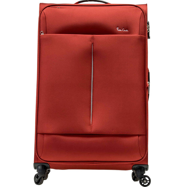 Pierre Cardin Ultralight 55cm Carry On Red