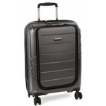 "Cellini Microlite 55cm Laptop Cabin Trolley 17.3"" Charcoal Grey"