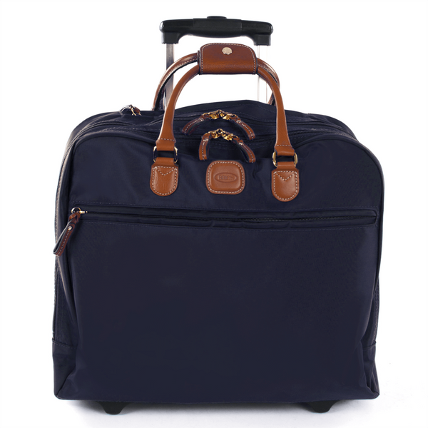 Bric's X-Travel Business Briefcase Blue