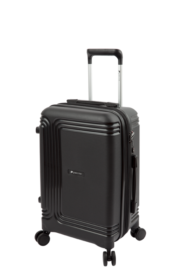 Paklite Orbit 55cm Carry On Spinner Black