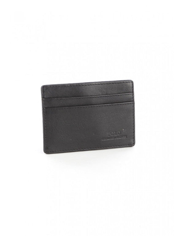 Polo Nappa Money Clip/Drivers Holder