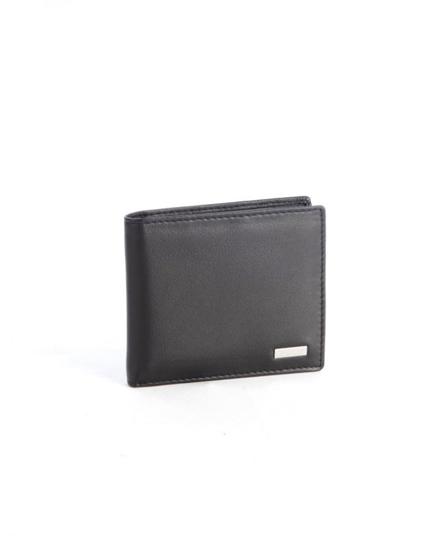 Polo Nappa Billfold With Coin Section
