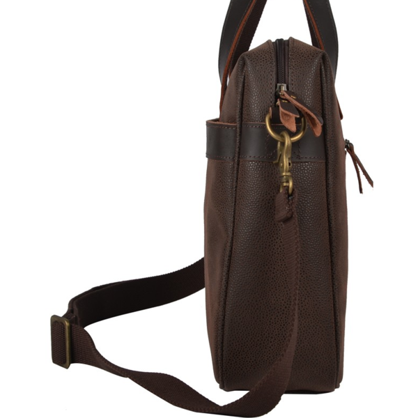 Troop London Laptop Bag Brown