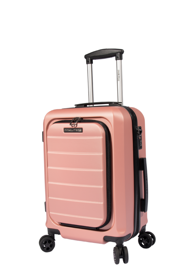 Paklite Metro 55cm Business Cabin Rose Gold