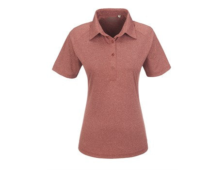 Ladies Triumph Golf Shirt - Red Only