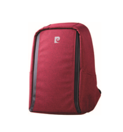 Pierre Cardin Phantom Anti-Theft Laptop Backpack Red