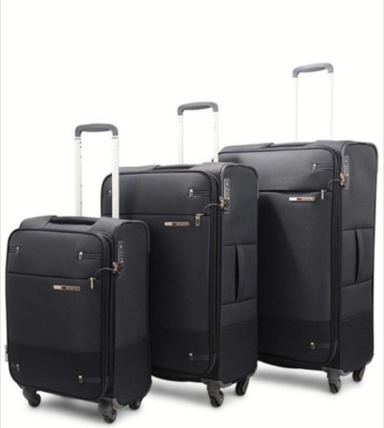 Samsonite Base Boost 3 Piece Set Black