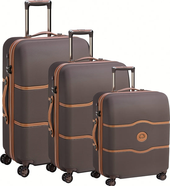 Delsey Chatelet Air 3 Piece Set Brown