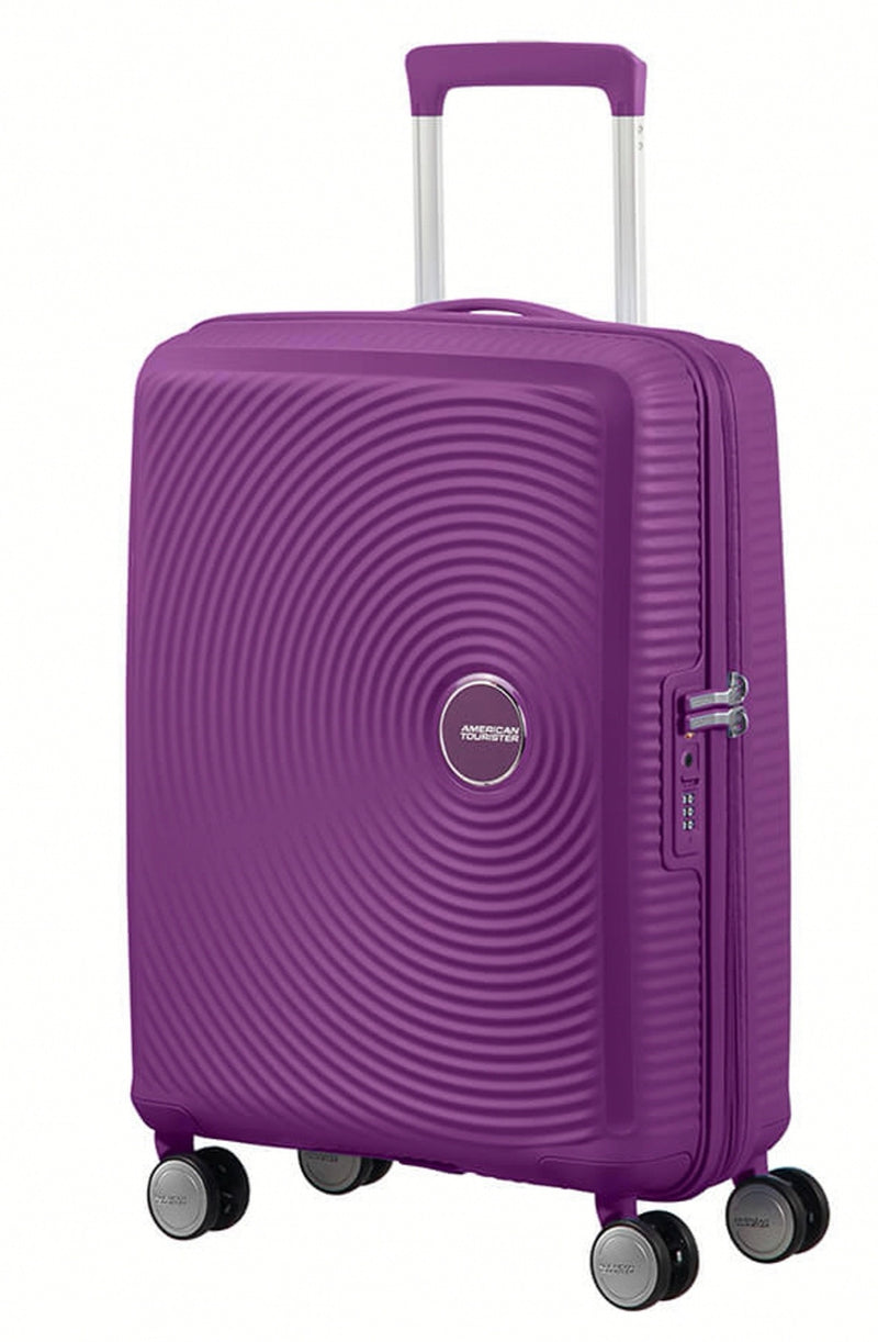 American Tourister Soundbox Expandable 55cm Purple