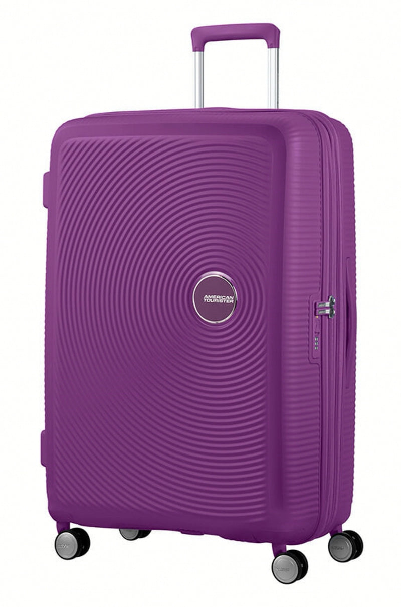 American Tourister Soundbox Expandable 77cm Purple