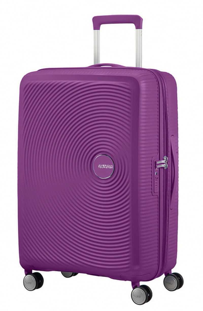 American Tourister Soundbox Expandable 67cm Purple