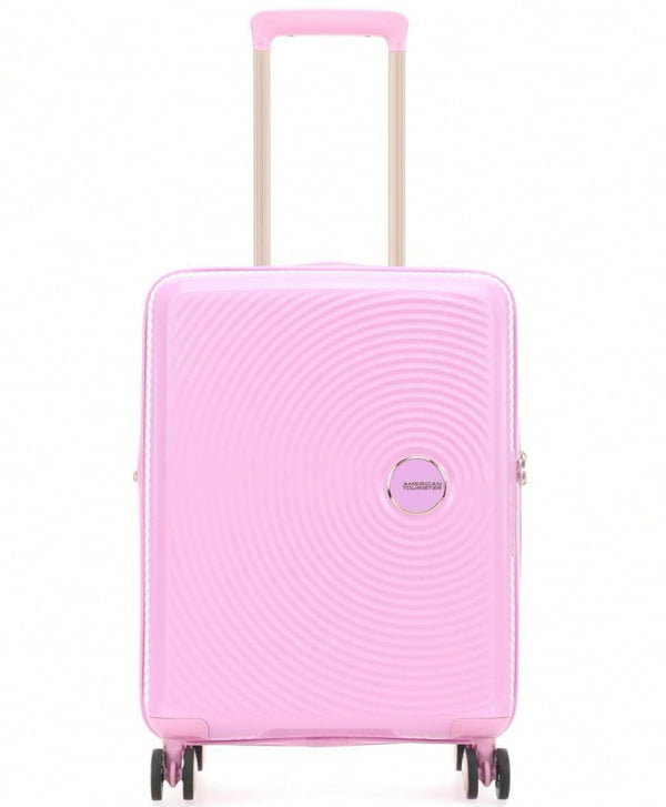 American Tourister Soundbox Expandable 55cm Pink/Gold