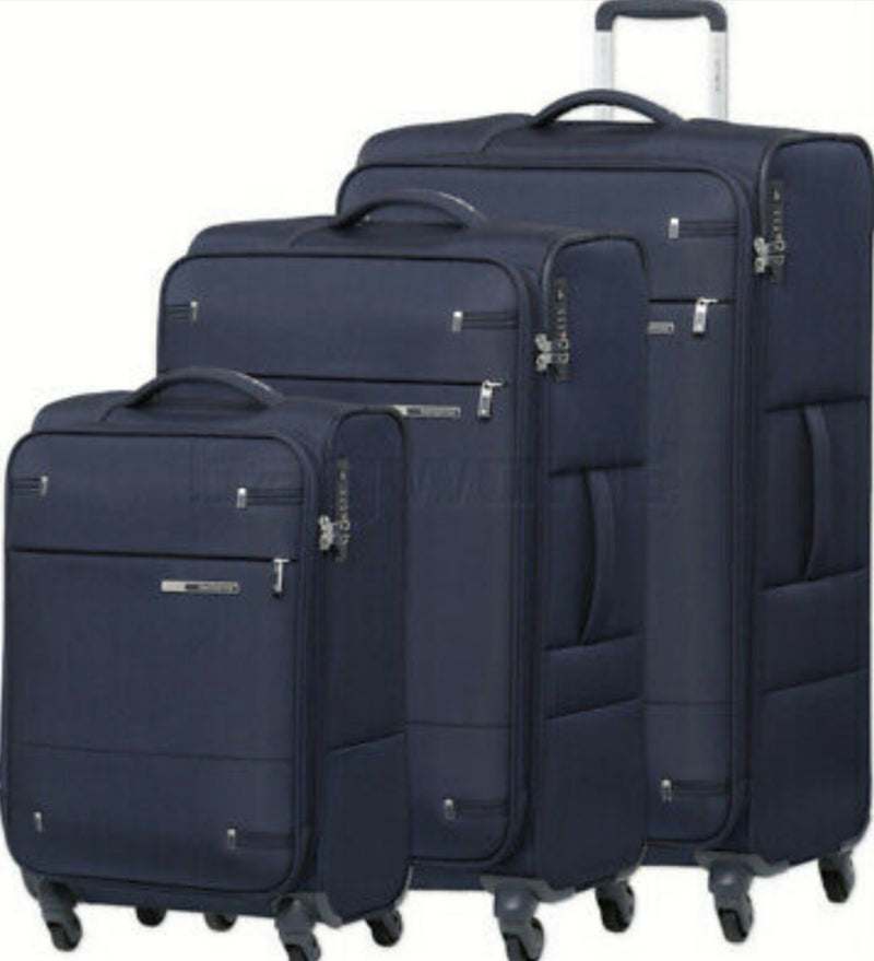Samsonite Base Boost 3 Piece Set Blue