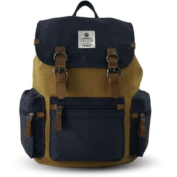 Troop London Utility Backpack Navy/Mustard