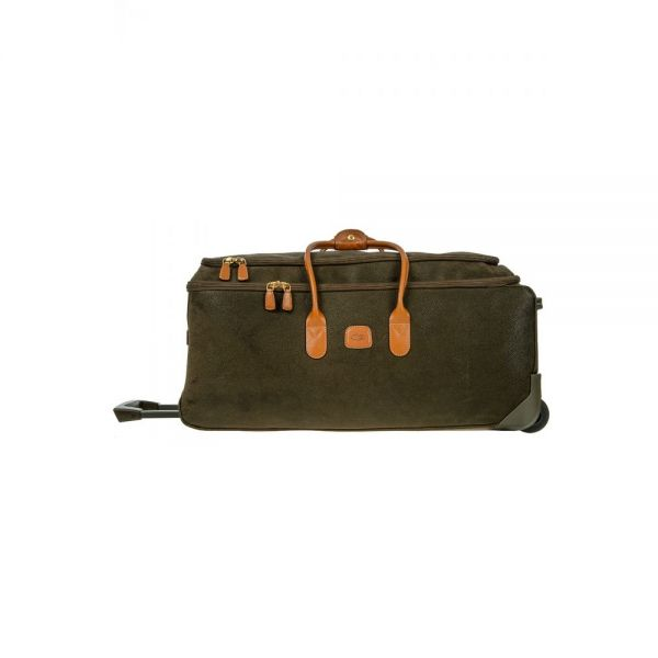 Bric's Life 72cm/28″ Rolling Duffle Olive