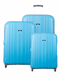 New Travelite Trend 3 Piece Set Aqua Blue