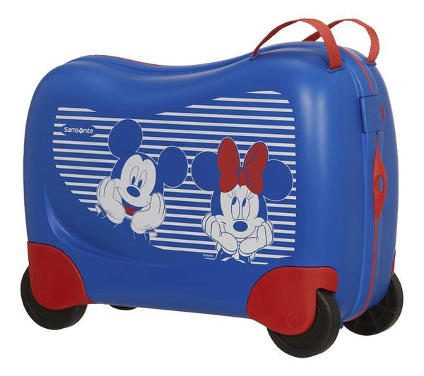 Samsonite Dream Rider Minnie/Mickey Suitcase