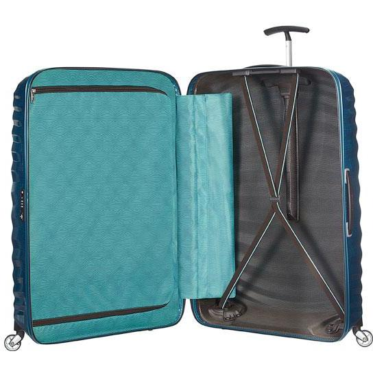 Samsonite Lite Shock 69cm Spinner Petrol Blue