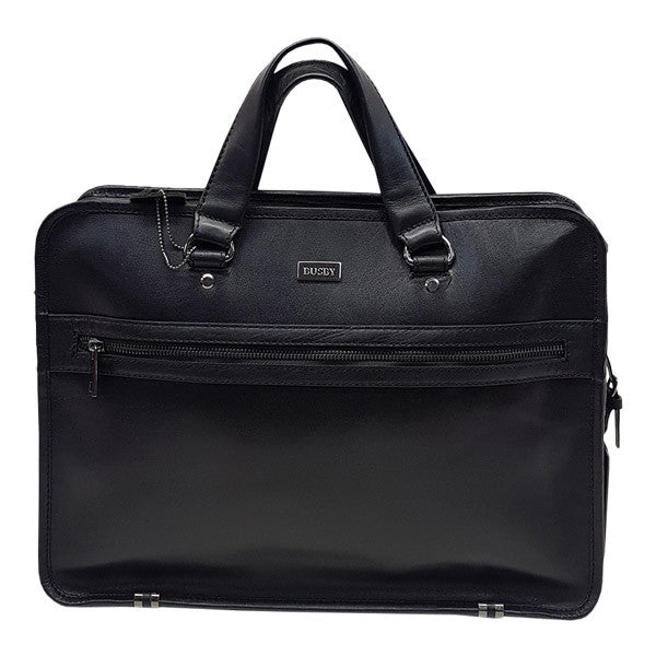 Busby Laptop Briefcase Black