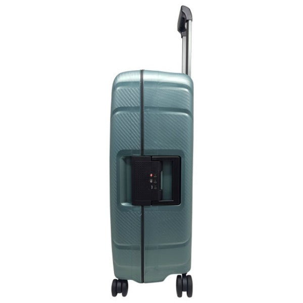 Cellini Safetech 55cm Carry On Spinner Steel Green