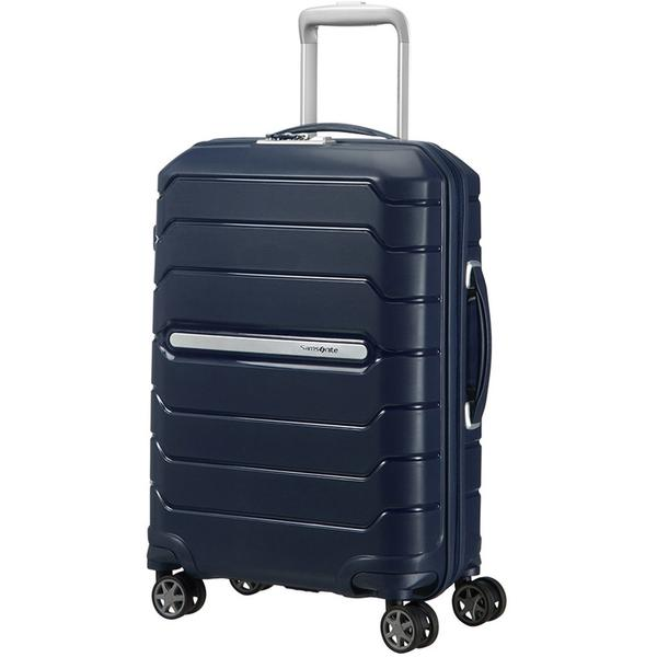 Samsonite Flux Spinner Expandable 55cm Navy Blue