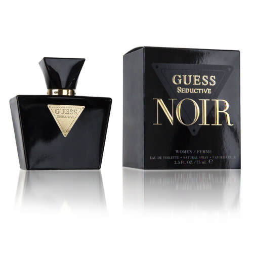 Guess  Seductive Noir Eau De Toilette For Women 75ml