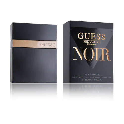 Guess  Seductive Noir Eau De Toilette For Men 100ml