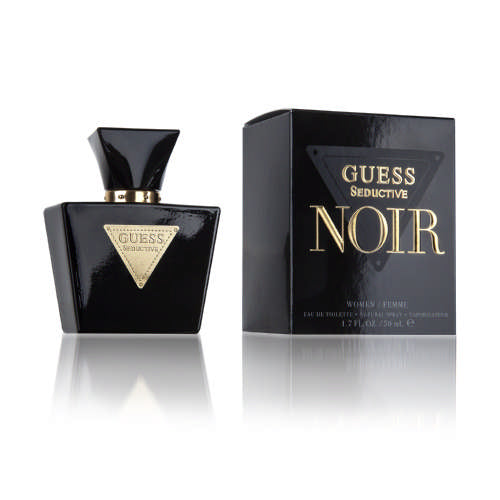 Guess  Seductive Noir Eau De Toilette For Women 50ml