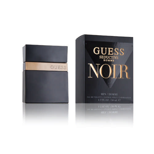 Guess  Seductive Noir Eau De Toilette For Men 50ml