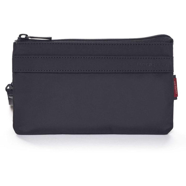 Hedgren Folios Large 3 Zipper Pouch w/RFID Black