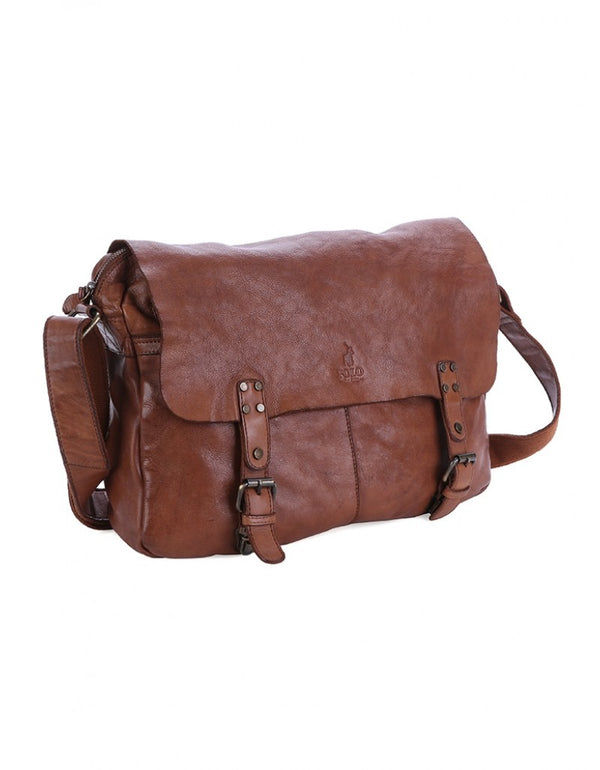 Polo Atacama Leather Satchel