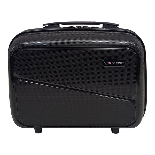 Gino De Vinci Swirl Beauty Case Black
