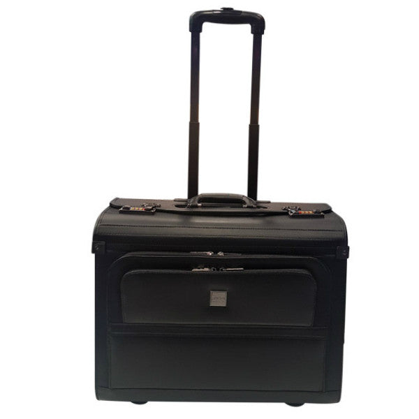 Busby Leather Pilot Case Black
