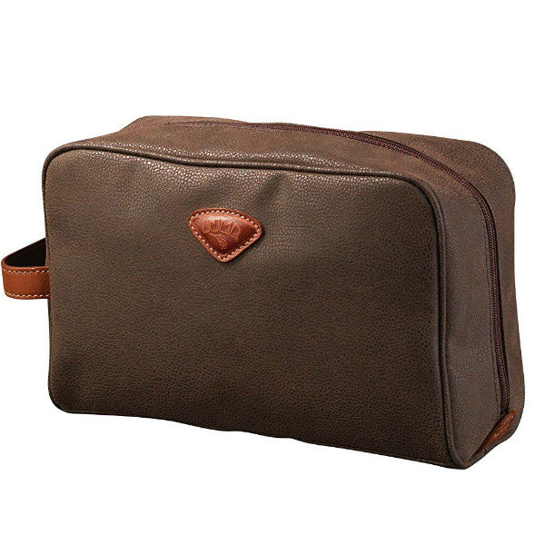 Jump Uppsala Mens Wash Bag Chocolate