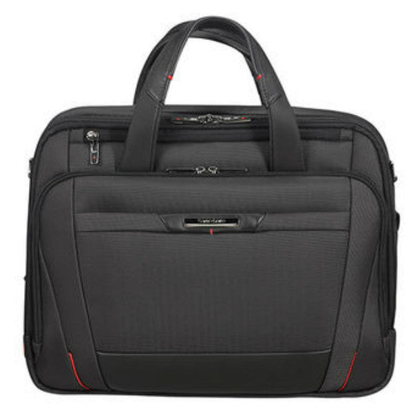 "Samsonite Pro DLX 5 Laptop Bailhandle Briefcase 15.6"" Black"