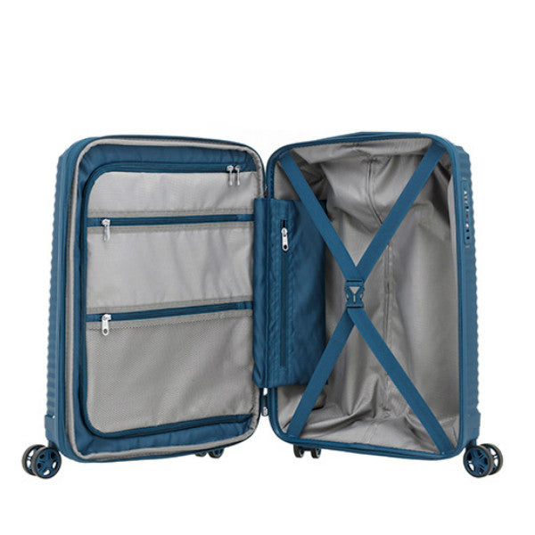 Samsonite Varro Expandable Spinner 69cm Navy Blue