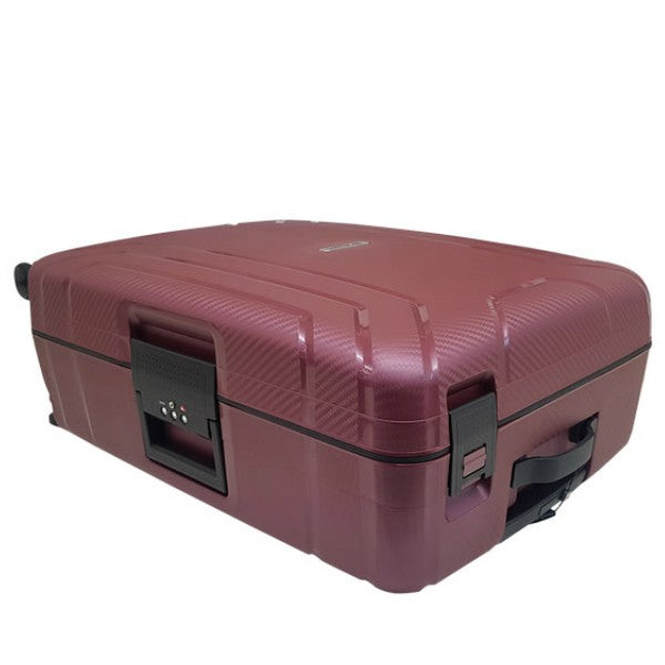 Cellini Safetech 55cm Carry On Spinner Sangria