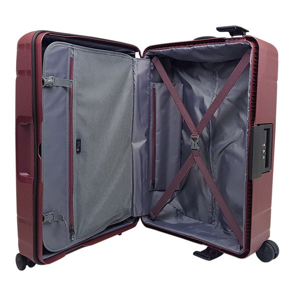 Cellini Safetech 75cm Spinner Steel Sangria
