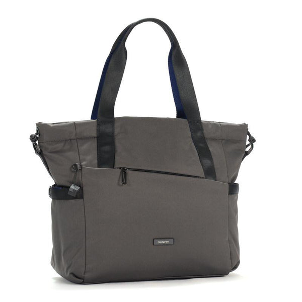 Hedgren Nova Shoulder Tote Handbag Grey