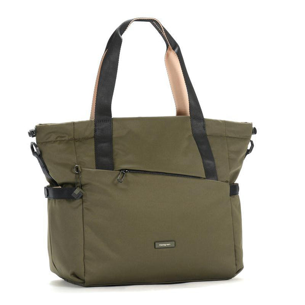 Hedgren Nova Shoulder Tote Handbag Green