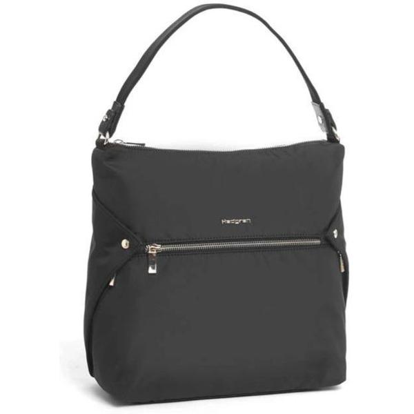 Hedgren Prisma Hobo Handbag Black